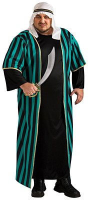 Arab Sheik Adult Plus Costume