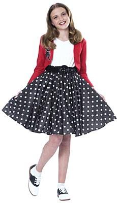 Fab 50's Polka Dot Rocker Child Costume