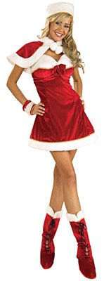 Sexy Mrs Claus Adult Costume