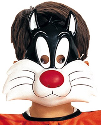 Looney Tunes Sylvester Plastic Mask