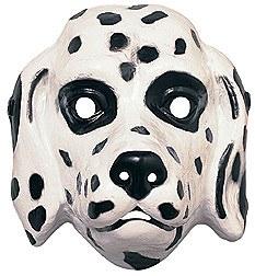 Dalmation Dog Plastic Mask