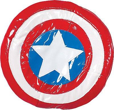 "Avengers Captain America Soft 6"" Comic Shield"