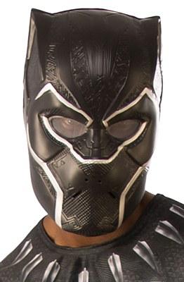 Black Panther Plastic Adult Mask