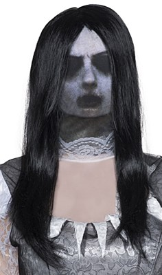 Ghost Gal Mask And Wig Set