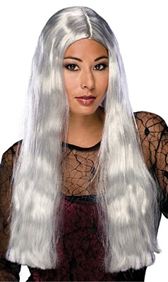 Witch Long Grey Wig