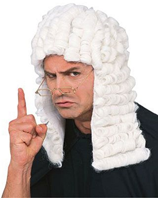 Barrister Judge Wig