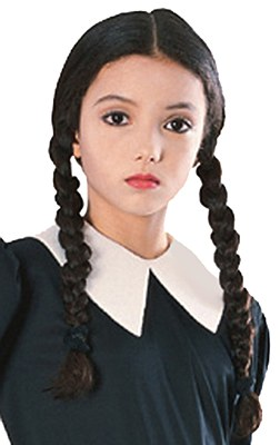 Addams Family Wednesday Child Wig
