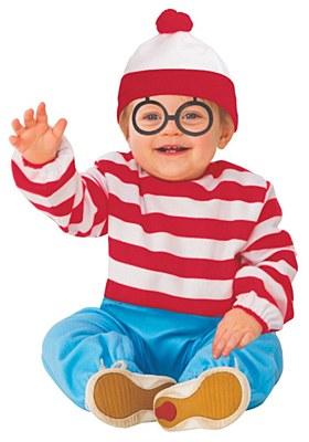 Where's Waldo Toddler Costume