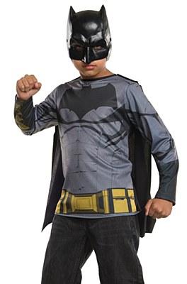 Batman T-Shirt Mask And Cape Child Costume Kit
