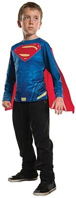 Superman Child T-Shirt And Cape Costume Kit
