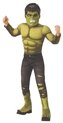 Avengers Infinity War Hulk Deluxe Muscle Child Costume