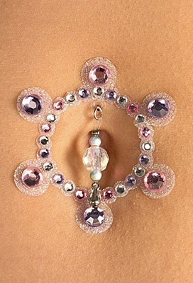 Crystal Belly Button Jewels