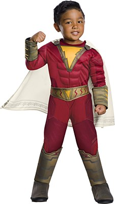 Shazam Deluxe Muscle Toddler Costume