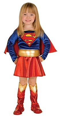Supergirl Deluxe Toddler Costume