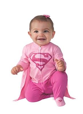 Supergirl Newborn Costume