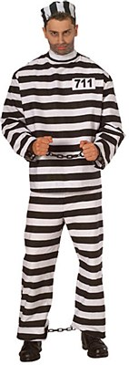 Prisoner Man Deluxe Adult Costume