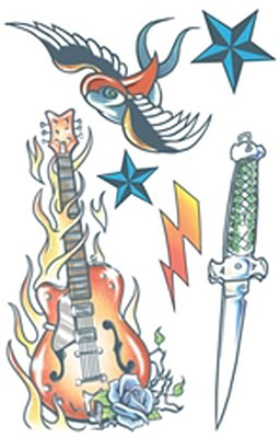 Tattoo Kit - Rock Star Tattoo Kit
