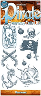 Tattoo Kit - Pirate / Buccaneer Tattoo Kit