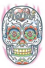 Day Of The Dead El Amor Tattoo