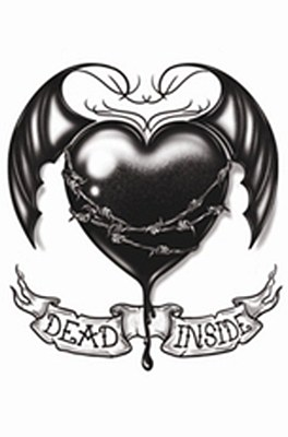 Goth Dead Inside Tattoo