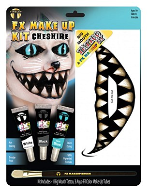 Cheshire Cat FX Tattoo Makeup Kit