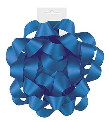 Ribbon Gift Bow - Royal Blue Satin