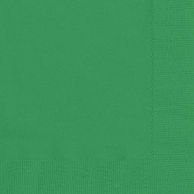 Solid Color Green Napkins