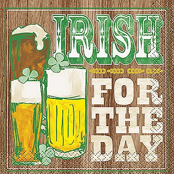 Irish For The Day Cocktail Napkins