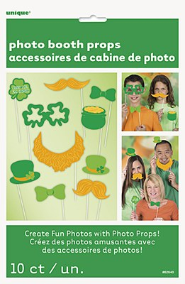 St. Patrick's Day Photo Booth Party Kit