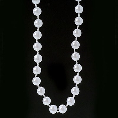 "Beads - Pearl 48"" Necklace"