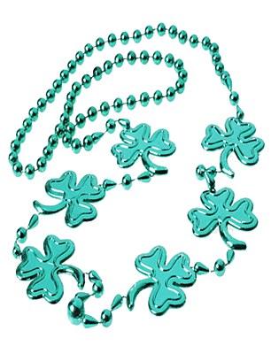 Shamrock Large Bead Necklace