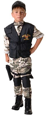 Seal Team Army Child Costume