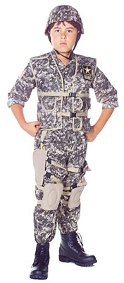 US Army Ranger Deluxe Child Costume