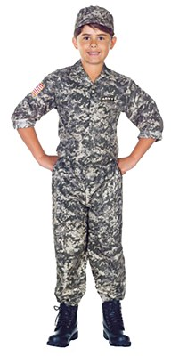 Army Soldier Child Costume