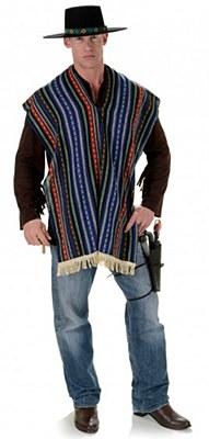 Bandito Fringe Trim Poncho