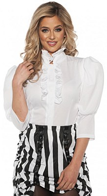 Gibson Girl Steampunk Women's Blouse