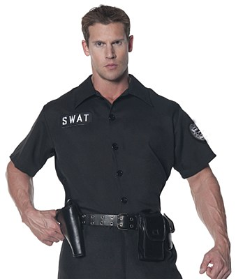 SWAT Police Men's Short Sleeve Shirt