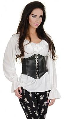 Renaissance Woman White Blouse