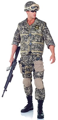 US Army Ranger Deluxe Adult Costume