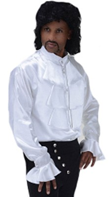 Pop Star Prince Ruffled White Shirt