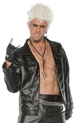 Leather Rocker Adult Jacket