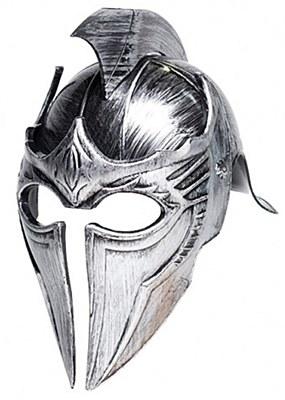 Gladiator Point Silver Helmet