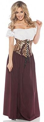 Renaissance Bar Maid Adult Costume