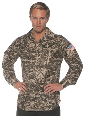Army Digital Camo Adult Shirt