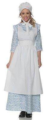 Pioneer Prairie Girl Adult Costume