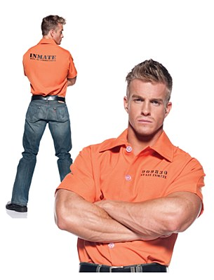 Prisoner Men's Adult Shirt