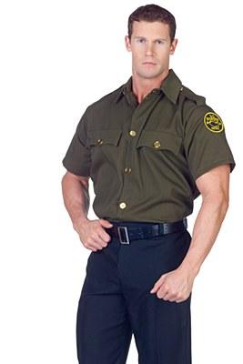 Border Patrol Police Adult Shirt