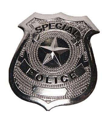 Special Police Shield Badge