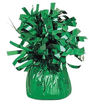 Green Balloon Foil Weight