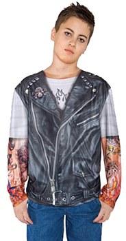Biker Tattoo Sleeve Child T-Shirt